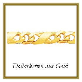 Dollarketten aus Gold