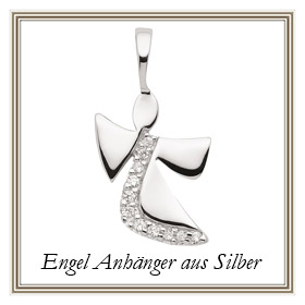 Engel Anhänger aus Silber