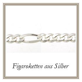 Figaroketten aus Silber