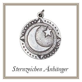 Sternzeichen Anhänger aus Silber