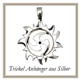 Triskel Anhänger aus Silber
