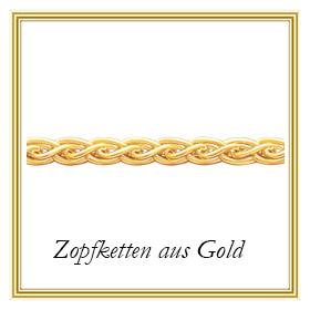 Zopfketten aus Gold
