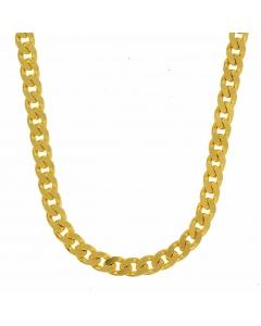 3,4 mm 50 cm 333 - 8 Karat Gelbgold Panzerkette massiv Gold hochwertige Halskette 12,2 g