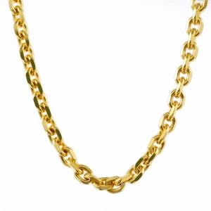1,7 mm 40 cm 333 - 8 Karat Gelbgold Ankerkette diamantiert massiv Gold hochwertige Halskette 3,1 g