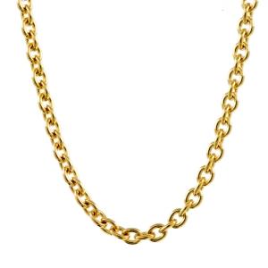 1,5 mm 50 cm 333 - 8 Karat Gelbgold Ankerkette rund massiv Gold hochwertige Halskette 2,8 g