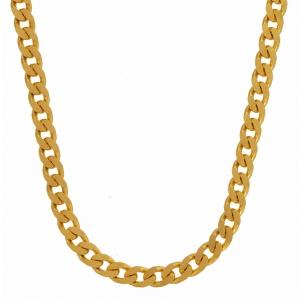 3,4 mm 55 cm 585 - 14 Karat Gelbgold Panzerkette massiv Gold hochwertige Halskette 15,5 g