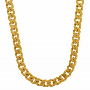 4,1 mm 45 cm 585 - 14 Karat Gelbgold Panzerkette massiv Gold hochwertige Halskette 18,8 g