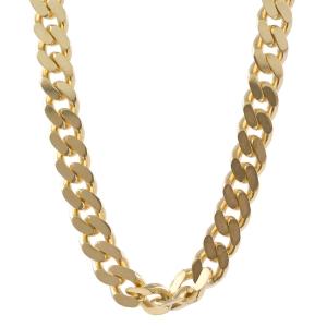4,1 mm 50 cm 585 - 14 Karat Gelbgold Panzerkette massiv Gold hochwertige Halskette 20,9 g