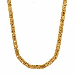 2,3 mm 45 cm 585 - 14 Karat Gelbgold Königskette massiv Gold hochwertige Halskette 20,2 g