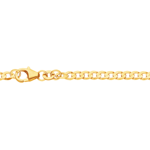 3,1 mm 60 cm 585 - 14 Karat Gelbgold Panzerkette massiv Gold hochwertige Halskette 8,93 g