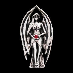 Lilith Anhänger Galraedia Göttin Gothic Mystic + Kette 24x47mm
