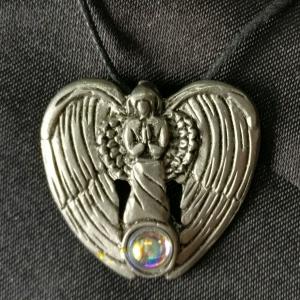 Der Engel der Liebe Anhänger Schmuck - Engel - 30x22mm