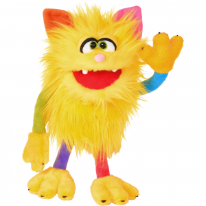 Living Puppets Handpuppe Schickimicki W816 (Cat Monster)